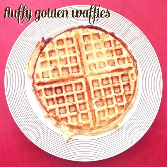 fluffy-golden-waffles