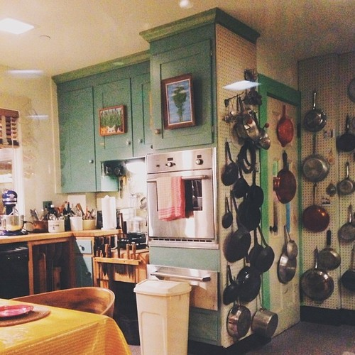 Julia Child's kitchen on display at the Smithsonian Museum of American History in Washington, D.C.